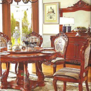 Dining Table with Dining Chair for Dining Room Furniture