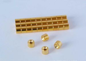 Disc Permanent (N35H) Sintered Neo/ NdFeB Magnets for Jewelry pictures & photos