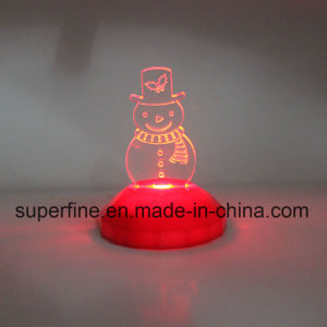 Creative Designing Battery Operated Multicolor LED Acrylic Light Gift for Christmas pictures & photos