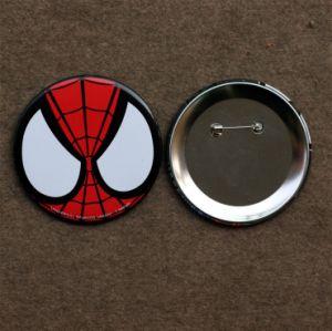 Souvenir Tin Button Badge with Customized Logo (BBG-03) pictures & photos