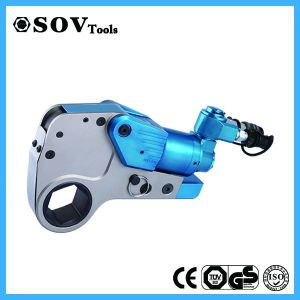Low Profile Hollow Hex Cassette Hydraulic Torque Wrench pictures & photos