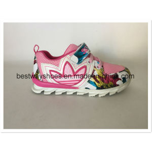 Fashion colorful Shoe Kids Shoe Sneaker for Girl pictures & photos