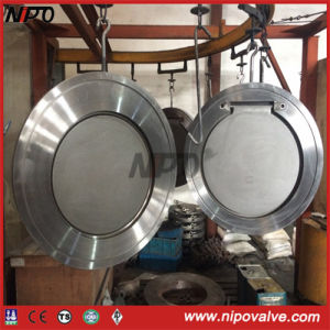 Wafer Type Single Disc Swing Check Valve pictures & photos