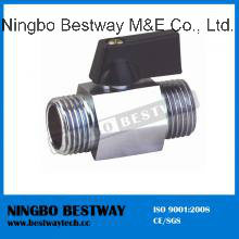 Mini Ball Valve with Chrome Plated pictures & photos