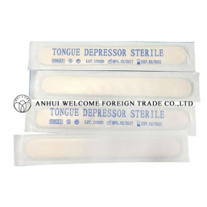 Disposable Wooden Tongue Depressor Sterile pictures & photos