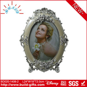 Wedding Hot Girls Photo Frame Oval Metal Photo Frame