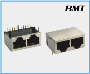 RJ45 Connector (RMT-59-025921-S8P2ports) pictures & photos