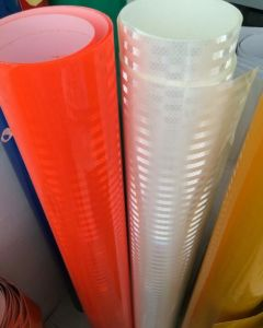 High Intension Micro Prismatic Reflective Film for Car Safety pictures & photos