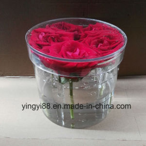 100% No Leaking Acrylic Flower Gift Box pictures & photos