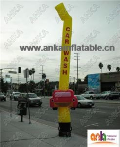 2017 Waving Man Sky Puppet with Mini Car for Car Store Sale pictures & photos