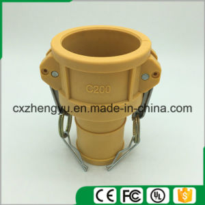 Plastic Camlock Couplings/Quick Couplings (Type-C) , Yellow Color