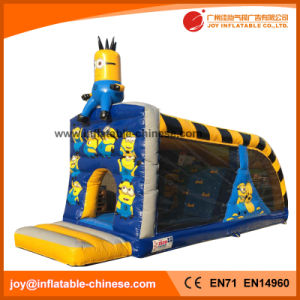 Cartoon Character Inflatable Bouncy Castle with Climbing Combo (T3-256) pictures & photos