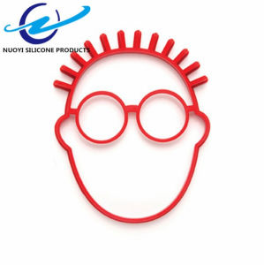 Food Grade Face Head Shaped Silicone Egg Fried Mold