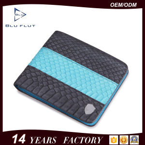 Wholesale Luxury Design Smart Genuine Python Leather Wallet Purse pictures & photos