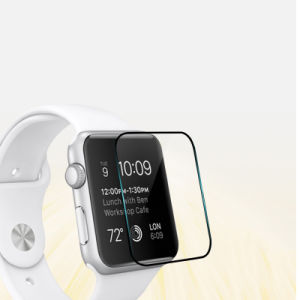 3D Surface Scratch Resistant Full Covered Tempered Glass Screen Protector Guard for Apple Watch pictures & photos