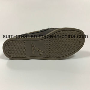 PU Upper Boy′s Casual Shoe with TPR Outsole pictures & photos