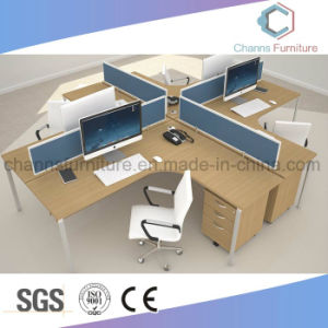 Modern Furniture Cross Computer Table Office Desk Workstation pictures & photos