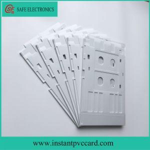 White Plastic PVC Card Tray Epson R260 Printer pictures & photos