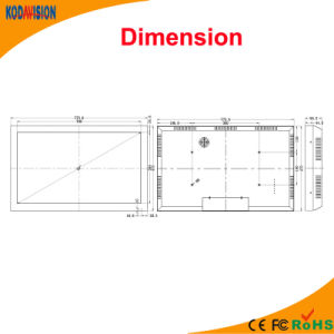 32 Inch 1080P CCTV Monitor Screen pictures & photos