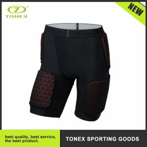 Compression Breathable Men′s Padded Sport Ware pictures & photos