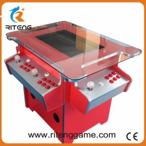 3 Sides Game Card Control Cocktail Table Arcade Game Console pictures & photos