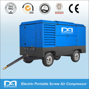 6 M3/Min Portable Air Compressor Electric Mobile Screw Air Compressor for Mining pictures & photos