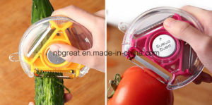 3 in 1 Stainless Steel Vegetable Peeler, Potato Peeler pictures & photos