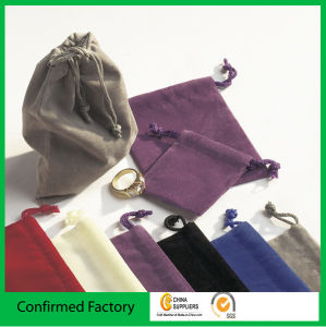 Exquisite Velvet Gift Bag Jewelry Velour Pouch Velvet Pouch pictures & photos