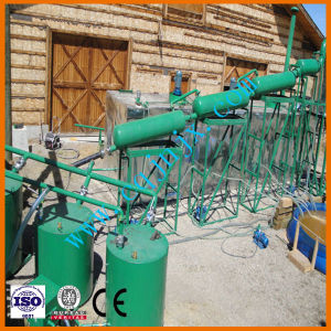 Black Used Motor Oil Recycling Machine to Get Diesel Fuel From Used Motor Oil Recycling Plant pictures & photos
