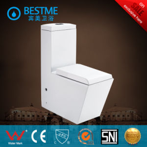 Eleganted Square Design Big Size Wc Sanitary Ware (BC-1004A) pictures & photos