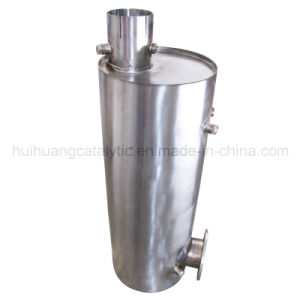 Oval Exhaust Pipe Catalytic Muffler (S235JR) pictures & photos