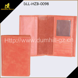 Travel Simple PU Passport Wallet for Wholesale pictures & photos
