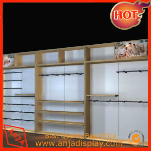 Wooden Clothing Display Stand Clothes Shelving for Retail Stores pictures & photos