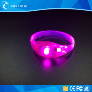 Wholesale Party Sound Activated LED Wristband Remote Control pictures & photos