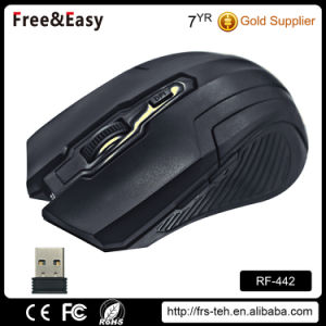 Medium Size 6D Computer 2.4G Wireless Optical Mouse pictures & photos