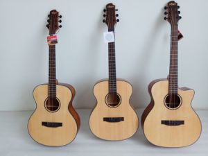 Aiersi New Arrival Acoustic Guitar with Attractive Headstock pictures & photos
