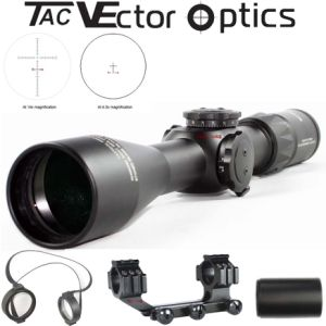 Vector Optics Capricorn 4.5-14X44 Low Profile 30mm Monocular 1/10mil Long Eye Relief MP Tactical First Focal Plane Riflescope for Hunting pictures & photos