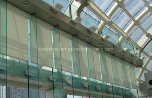 4~15mm Heat Strengthened Tempered Tinted Glass for Building pictures & photos