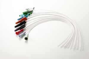 PVC Suction Catheter with Finger-Control Tip pictures & photos