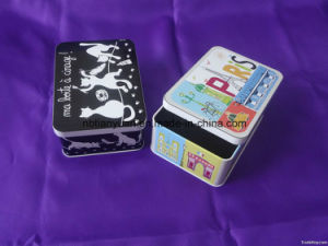 Square Tin Cup Cake Boxes and Packaging Cake Tin Box