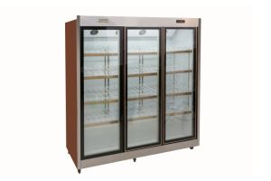 Hot Sale Air Curtain Freezer for Fruit Milk for Supermarket