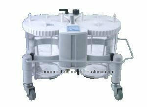 Pneumatic Medical Suction Unit with 2X3500ml Bottles pictures & photos