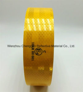 ECE 104r 00821 Self Adhesive Warning Traffic Reflective Material pictures & photos