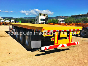 2017 New Style 3 Axles Container Flatbed Utility Semi Trailer for Sale pictures & photos