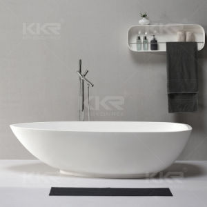 Sanitary Ware Modern Bathroom Furniture Solid Surface Bathtub0706 pictures & photos