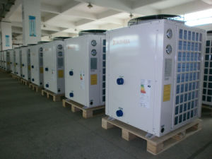 Water Heating and Cooling Heat Pump for Big Swimming Pool