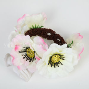 Fabric Flower Bangle Jewelry for Gift pictures & photos