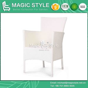 Three Colors Outdoor Stackable Dining Chair for Hotel Project pictures & photos