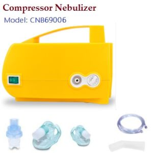 Copmressor Nebulizer with Yellow Case pictures & photos