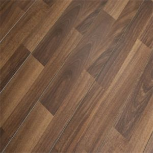 UV Lacquer T&G Engineered American Walnut Hardwood Flooring pictures & photos